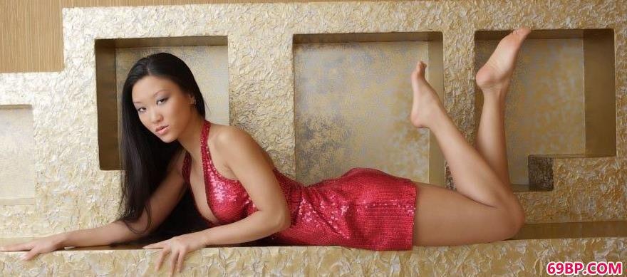 顶级亚裔裸模Mariko1